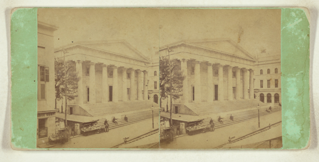 [Custom House, Phila.]; James Cremer (British, 1821 - 1893); 1868–1876; Albumen silver print; 84.XC.979.3066; Gift of Weston J. and Mary M. Naef; Rights Statement: No Copyright - United States