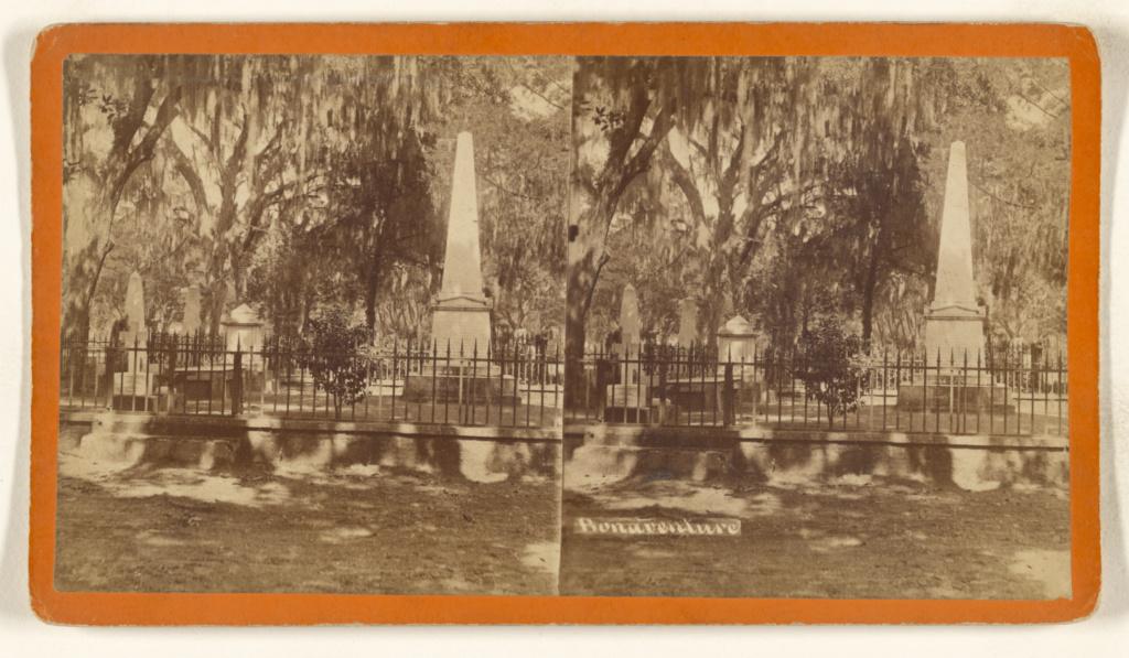 Bonaventure [Savannah, Georgia]; O. Pierre Havens (American, 1838 - 1912, active Savannah, Georgia); about 1874; Albumen silver print; 84.XC.979.4266; Gift of Weston J. and Mary M. Naef; Rights Statement: No Copyright - United States