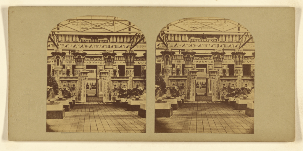 The Egyptian Court.; London Stereoscopic Company (active 1854 - 1890); negative 1851; print later; Albumen silver print; 84.XC.873.7927; Rights Statement: No Copyright - United States
