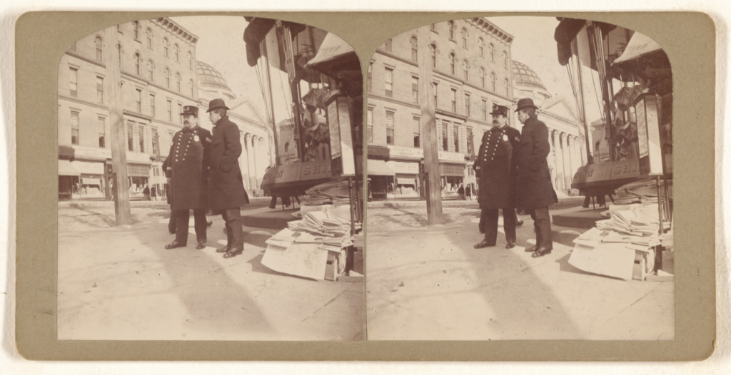 [Thomas J. Cuddy. (Police Sargent) 2d Precinct. March 1903.]; Julius M. Wendt (American, active 1900s - 1910s); March 1903; Gelatin silver print; 84.XC.873.5360; The J. Paul Getty Museum, Los Angeles; Rights Statement: No Copyright - United States