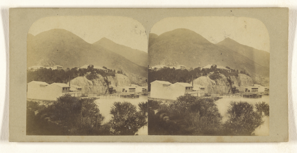 View from Hong Kong Harbour.; Pierre Joseph Rossier (Swiss, 1829 - about 1883), Negretti & Zambra (British, active 1850 - 1899); 1858–1859; Albumen silver print; 84.XC.759.30.2; The J. Paul Getty Museum, Los Angeles; Rights Statement: No Copyright - United States