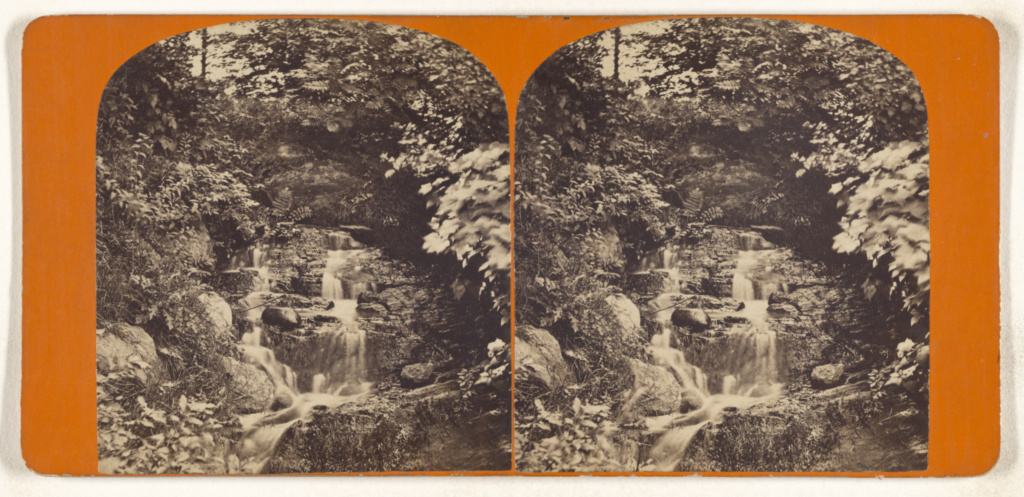 The Cascade [Central Park, New York City]; Unknown maker, American; about 1870; Albumen silver print; 84.XC.873.8400; Rights Statement: No Copyright - United States