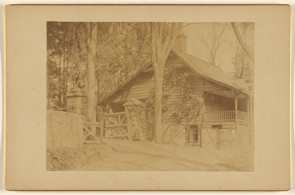 Lodge - Silverspring [New Jersey]; Unknown maker, American; about 1885; Albumen silver print; 84.XD.879.119; The J. Paul Getty Museum, Los Angeles; Rights Statement: No Copyright - United States