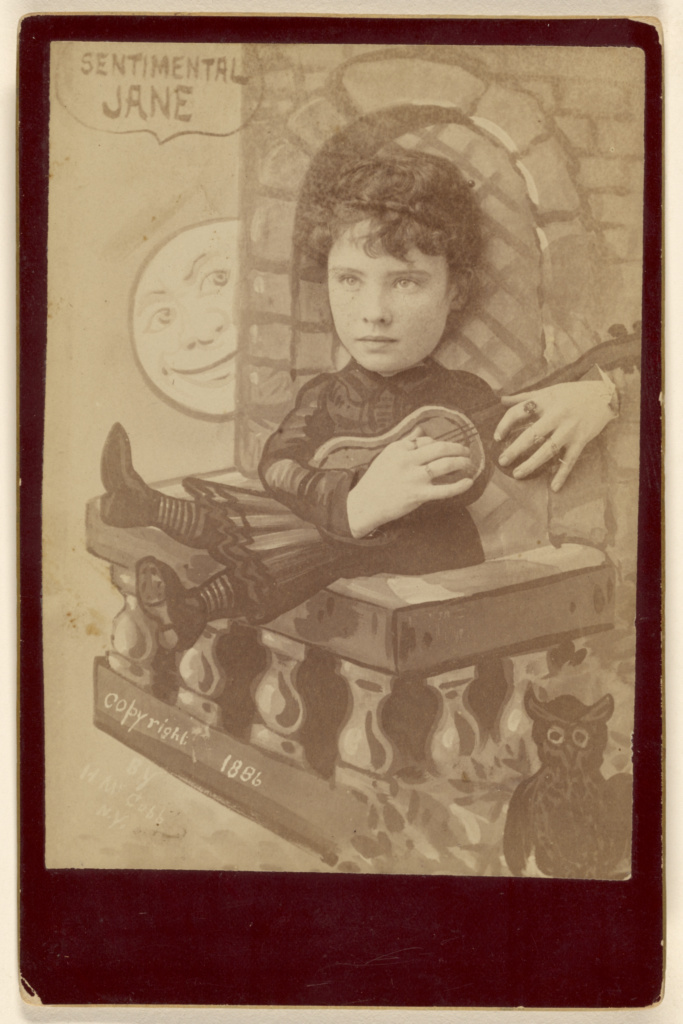 """""""Sentimental John""""; Henry McCobb (American, active New York, New York 1880s); 1886; Albumen silver print; 84.XC.873.4802; The J. Paul Getty Museum, Los Angeles; Rights Statement: No Copyright - United States"""