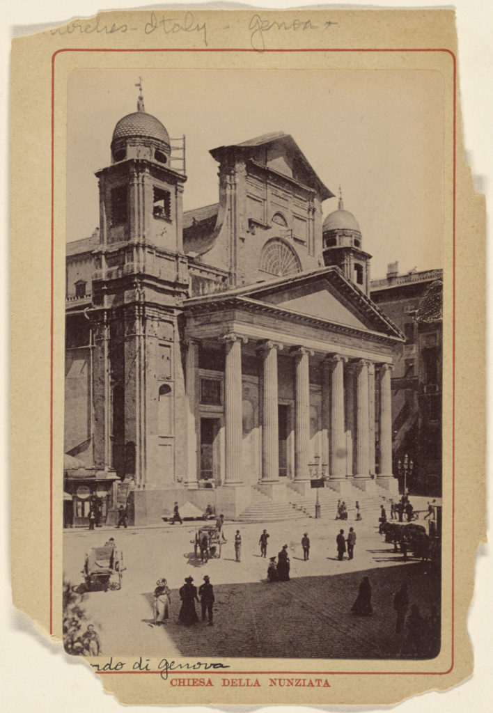 Chiesa Della Nunziata; Unknown maker, Italian; about 1880; Collotype; 84.XD.879.249; The J. Paul Getty Museum, Los Angeles; Rights Statement: No Copyright - United States