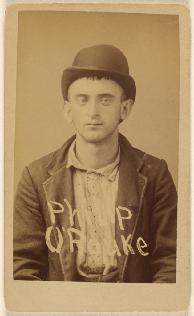 Philip O'Rouke; Unknown maker, American; about 1891; Albumen silver print; 84.XD.1157.138; The J. Paul Getty Museum, Los Angeles; Rights Statement: No Copyright - United States