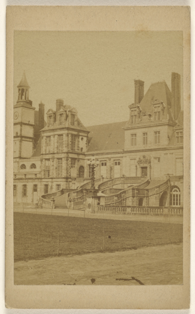 Fontainebleau; Debitte & Hervè (French, active 1860s - 1870s); about 1865; Albumen silver print; 84.XD.1157.314; The J. Paul Getty Museum, Los Angeles; Rights Statement: No Copyright - United States