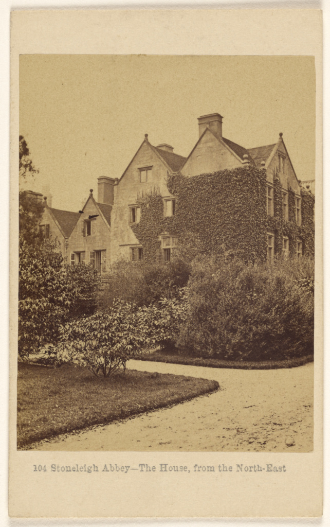 Stoneleigh Abbey - The House, from the North-East; Francis Bedford (English, 1815/1816 - 1894); November 13, 1865; Albumen silver print; 84.XD.1157.324; The J. Paul Getty Museum, Los Angeles; Rights Statement: No Copyright - United States