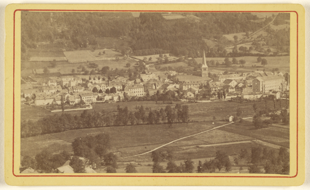 le val d'tyrol; Gehanne (French, active Plombiéres, France 1860s); 1865–1875; Albumen silver print; 84.XD.1157.1427; The J. Paul Getty Museum, Los Angeles; Rights Statement: No Copyright - United States