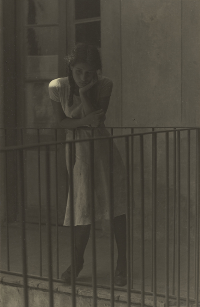 The Day Dream / El ensueño; Manuel Álvarez Bravo (Mexican, 1902 - 2002); 1931; Gelatin silver print; 21.9 × 14.3 cm (8 5/8 × 5 5/8 in.); 92.XM.23.11; The J. Paul Getty Museum, Los Angeles; Rights Statement: In Copyright; Copyright: © Archivo Manuel Álvarez Bravo, S.C.