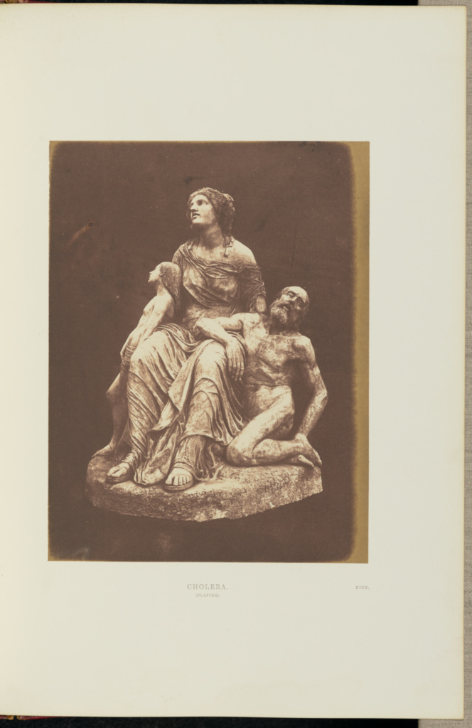 Cholera; Claude-Marie Ferrier (French, 1811 - 1889), Sir Hugh Owen (British, 1804 - 1881); London, England; May 1–October 15, 1851; Salted paper print; 20.7 × 15.8 cm (8 1/8 × 6 1/4 in.); 84.XB.577.2.4.36; The J. Paul Getty Museum, Los Angeles; Rights Statement: No Copyright - United States