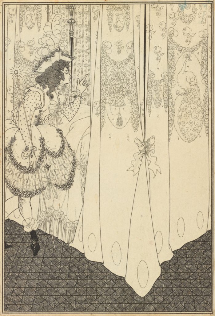 The Dream; Aubrey Vincent Beardsley (British, 1872 - 1898); 1896; Pen and black ink over pencil; 25.7 × 17.8 cm (10 1/8 × 7 in.); 99.GA.18; The J. Paul Getty Museum, Los Angeles; Rights Statement: No Copyright - United States