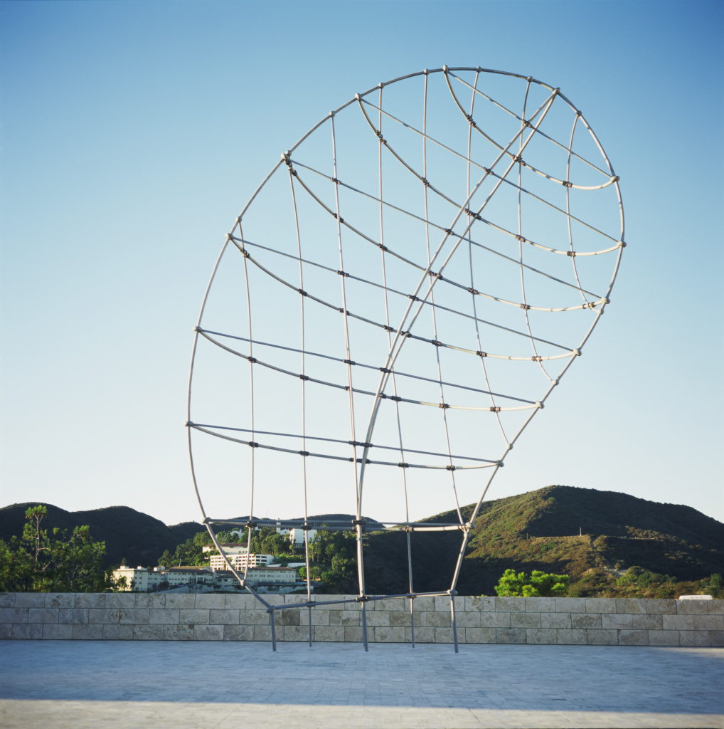 That Profile; Martin Puryear (American, born 1941); 1999; Stainless steel, and bronze; 1371.6 × 914.4 × 345.4 cm (540 × 360 × 136 in.); 99.SI.51; The J. Paul Getty Trust, Los Angeles; Rights Statement: In Copyright; Copyright: © Martin Puryear