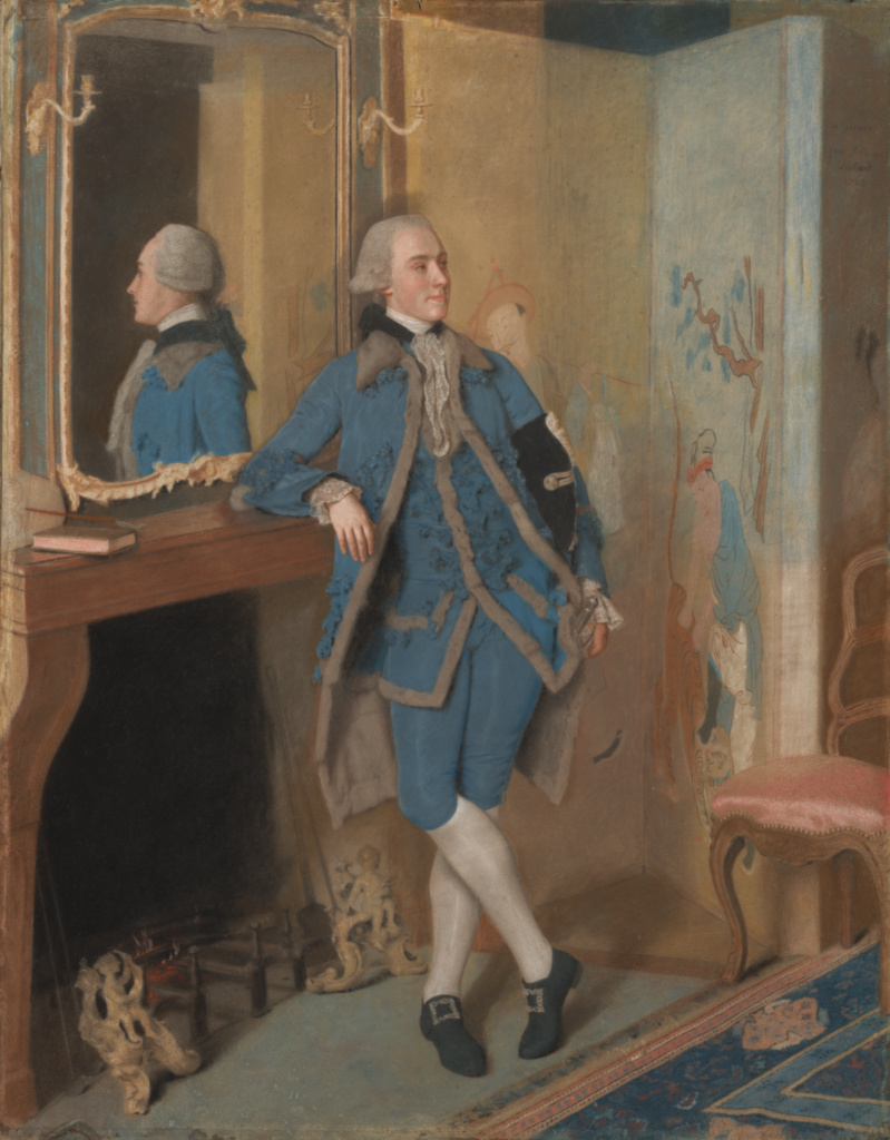 Portrait of John, Lord Mountstuart, later 4th Earl and 1st Marquess of Bute; Jean-Étienne Liotard (Swiss, 1702 - 1789); 1763; Pastel on vellum; 114.9 × 90.2 cm (45 1/4 × 35 1/2 in.); 2000.58; Rights Statement: No Copyright - United States