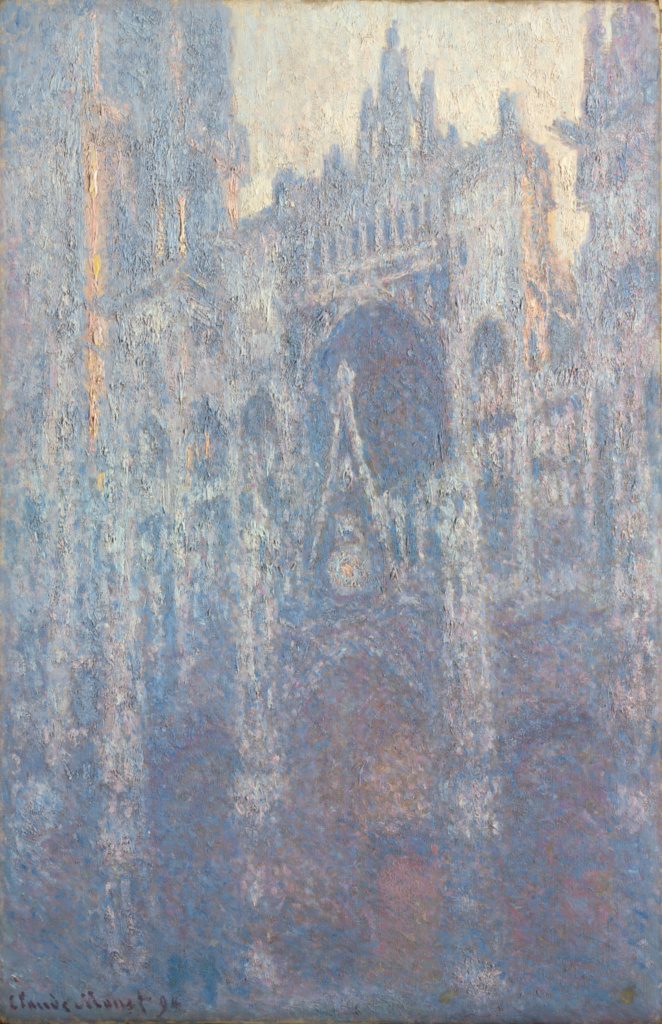 The Portal of Rouen Cathedral in Morning Light; Claude Monet (French, 1840 - 1926); 1894; Oil on canvas; 100.3 × 65.1 cm (39 1/2 × 25 5/8 in.); 2001.33; Rights Statement: No Copyright - United States