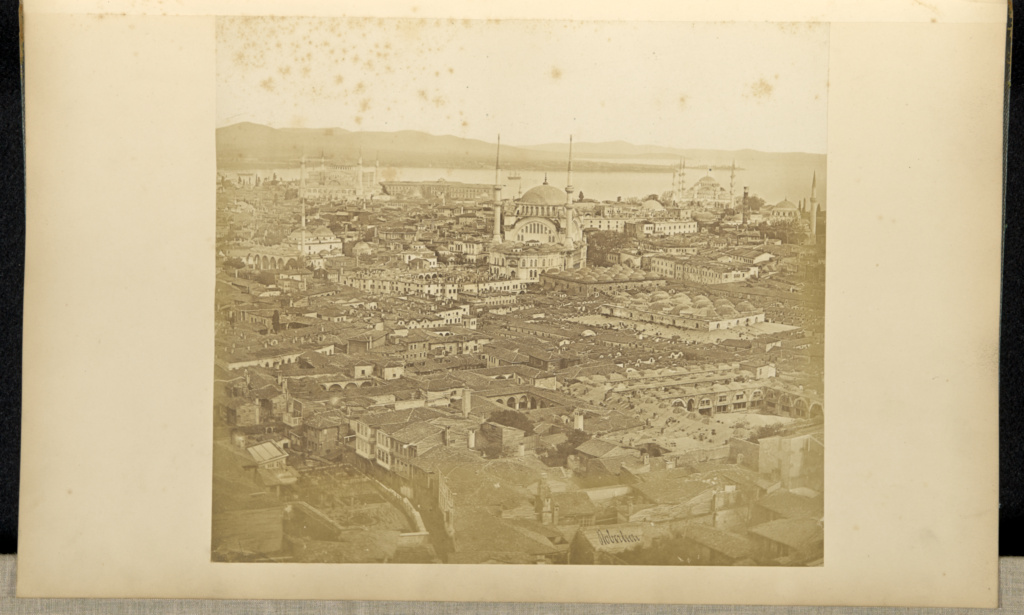 Stamboul looking towards Kaerikeuy [sic]; James Robertson (English, 1813 - 1888); Constantinople, Turkey; 1855 - 1856; Salted paper print; 25.5 × 28.6 cm (10 1/16 × 11 1/4 in.); 84.XA.619.69; The J. Paul Getty Museum, Los Angeles; Rights Statement: No Copyright - United States