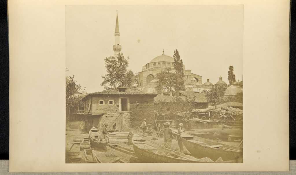 Constantinople; James Robertson (English, 1813 - 1888); Constantinople, Turkey; 1855 - 1856; Salted paper print; 26 × 29 cm (10 1/4 × 11 7/16 in.); 84.XA.619.72; The J. Paul Getty Museum, Los Angeles; Rights Statement: No Copyright - United States