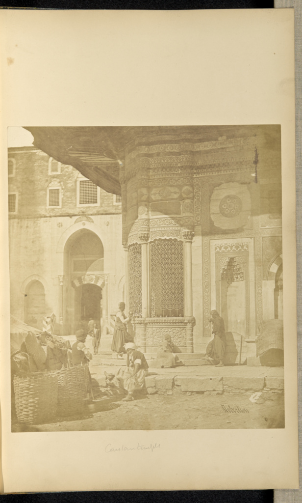 Fountain, Constantinople; James Robertson (English, 1813 - 1888); Constantinople, Turkey; 1855–1856; Salted paper print; 29 × 26 cm (11 7/16 × 10 1/4 in.); 84.XA.619.73; The J. Paul Getty Museum, Los Angeles; Rights Statement: No Copyright - United States