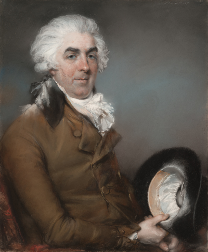 Portrait of George de Ligne Gregory (1740 - 1822); John Russell (English, 1745 - 1806); 1793; Pastel on paper, laid on canvas; 75.9 × 63.2 cm (29 7/8 × 24 7/8 in.); 2001.77; The J. Paul Getty Museum, Los Angeles; Rights Statement: No Copyright - United States
