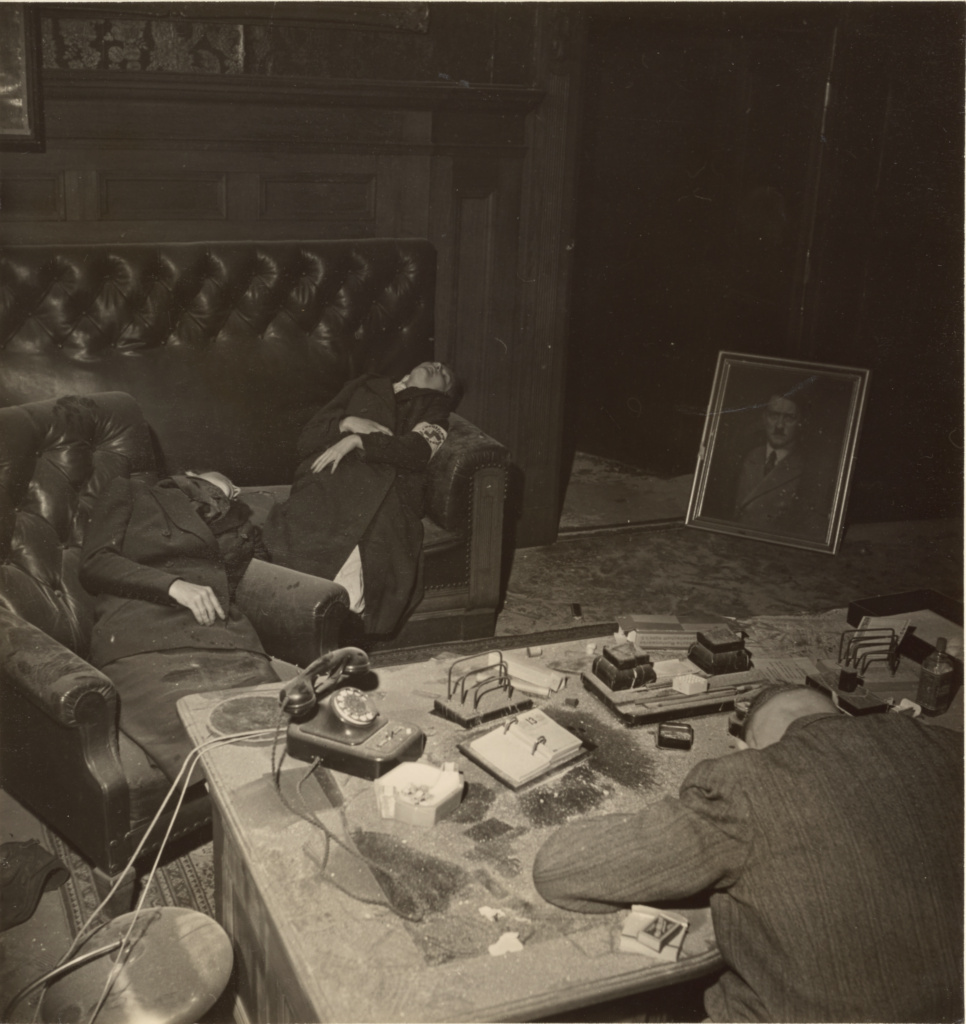 Leipzig, Germany; Lee Miller (American, 1907 - 1977); 1945; Gelatin silver print; 16.1 × 15.2 cm (6 5/16 × 6 in.); 2004.73.3; Rights Statement: In Copyright; Copyright: © The Lee Miller Archives