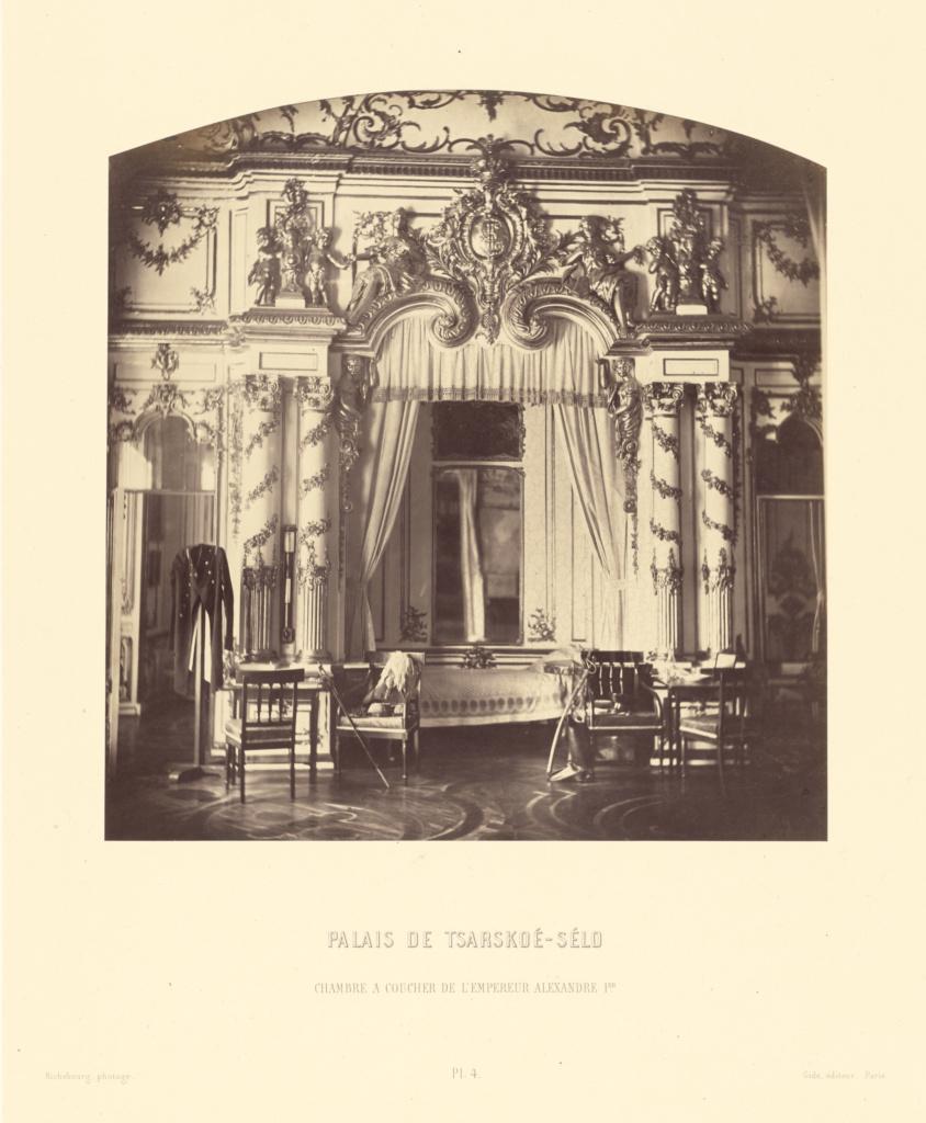 Palais de Tsarskoe-Selo, Chambre a Coucher de l\'Empereur ...