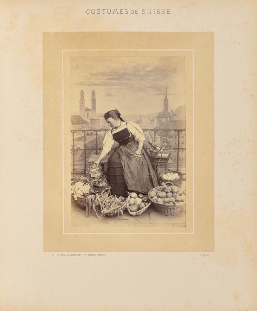 Canton de Zurich; Adolphe Braun (French, 1812 - 1877); about 1869; Albumen silver print; 14.6 × 9.8 cm (5 3/4 × 3 7/8 in.); 84.XO.575.5; Rights Statement: No Copyright - United States