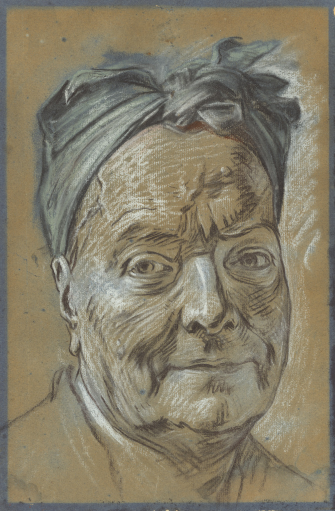 Portrait of Louis de Silvestre; Maurice-Quentin de La Tour (French, 1704 - 1788); about 1753; Black and white chalk, blue and rose pastel on faded blue paper; 32.5 × 21.4 cm (12 13/16 × 8 7/16 in.); 2002.50; The J. Paul Getty Museum, Los Angeles; Rights Statement: No Copyright - United States