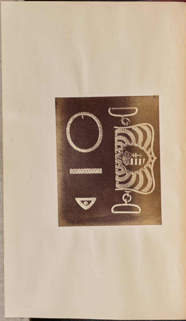 [Belt accessories and Cartouche Pouch]; Unknown maker; 1867; Albumen silver print; 10 × 8.1 cm (3 15/16 × 3 3/16 in.); 84.XB.935.8.7; Rights Statement: No Copyright - United States