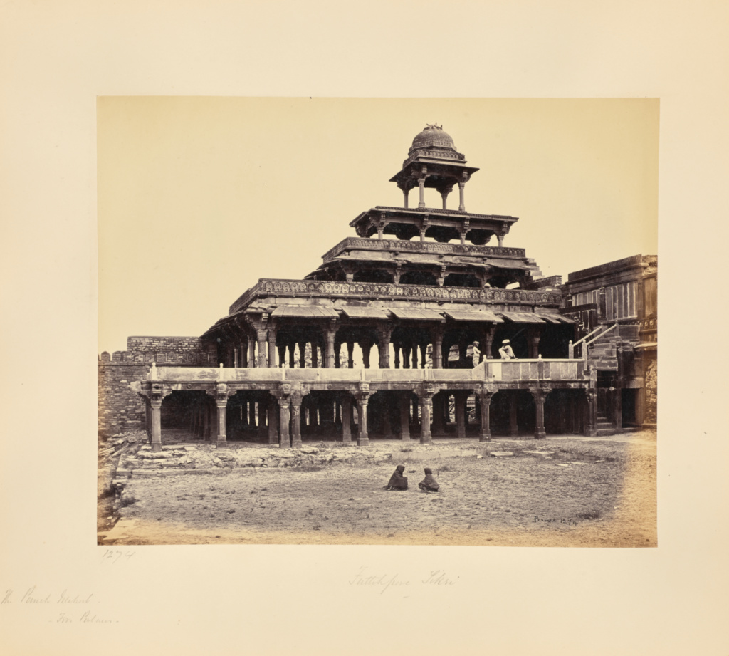 futtypore sikri the panch mehal five palaces getty museum
