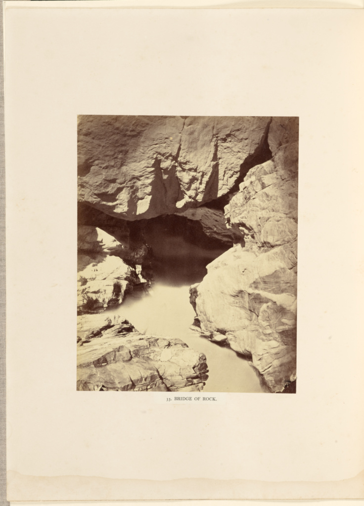 Bridge of Rock; Philip Henry Egerton (British, active 1860s); London, England; negative June–August 1863; print 1863–1864; Albumen silver print; 20.9 × 16.7 cm (8 1/4 × 6 9/16 in.); 84.XB.1337.34; The J. Paul Getty Museum, Los Angeles; Rights Statement: No Copyright - United States