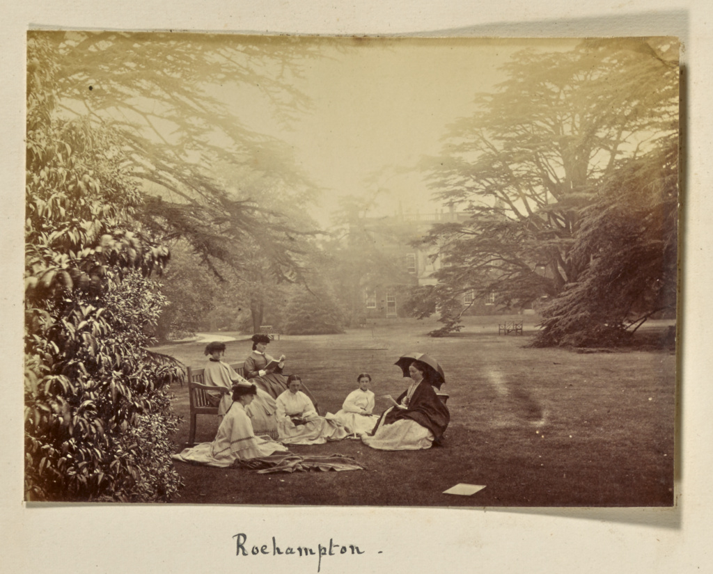 Roehampton; Ronald Ruthven Leslie-Melville (Scottish,1835 - 1906); England; 1860s; Albumen silver print; 11.3 × 15.8 cm (4 7/16 × 6 1/4 in.); 86.XA.21.14; The J. Paul Getty Museum, Los Angeles; Rights Statement: No Copyright - United States