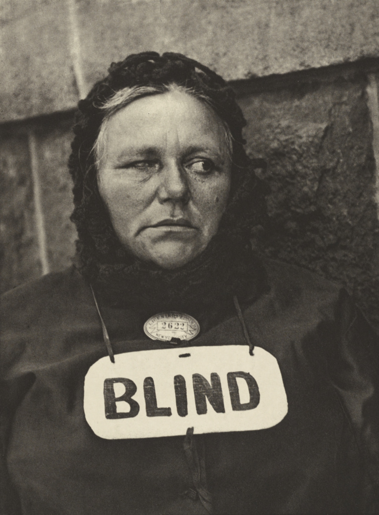 Photograph - New York [Blind Woman]; Paul Strand (American, 1890 - 1976); New York, New York, United States; negative 1916; print 1917; Photogravure; 22.4 × 16.7 cm (8 13/16 × 6 9/16 in.); 93.XB.26.53; The J. Paul Getty Museum, Los Angeles; Rights Statement: No Copyright - United States