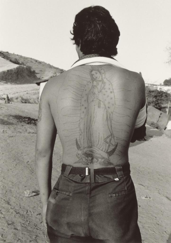 La frontera, Tijuana, México; Graciela Iturbide (Mexican, born 1942); Tijuana, Baja California, Mexico; 1990; Gelatin silver print; 31.8 × 22.5 cm (12 1/2 × 8 7/8 in.); 2007.38.2; The J. Paul Getty Museum, Los Angeles; Rights Statement: In Copyright; Copyright: © Graciela Iturbide