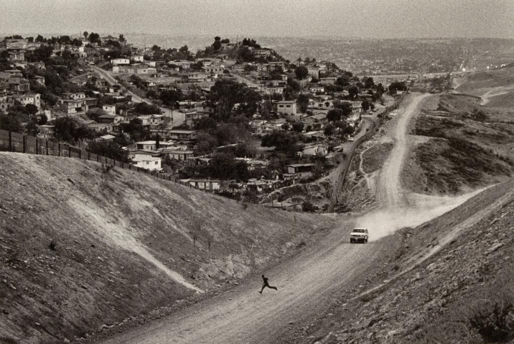 U.S. - Mexico Border, desert of San Ysidro, California; Sebastião Salgado (Brazilian, born 1944); negative 1997; print 2009; Gelatin silver print; 34.4 × 51.4 cm (13 9/16 × 20 1/4 in.); 2009.33.11; Rights Statement: In Copyright; Copyright: © Sebastião Salgado / Amazonas Images