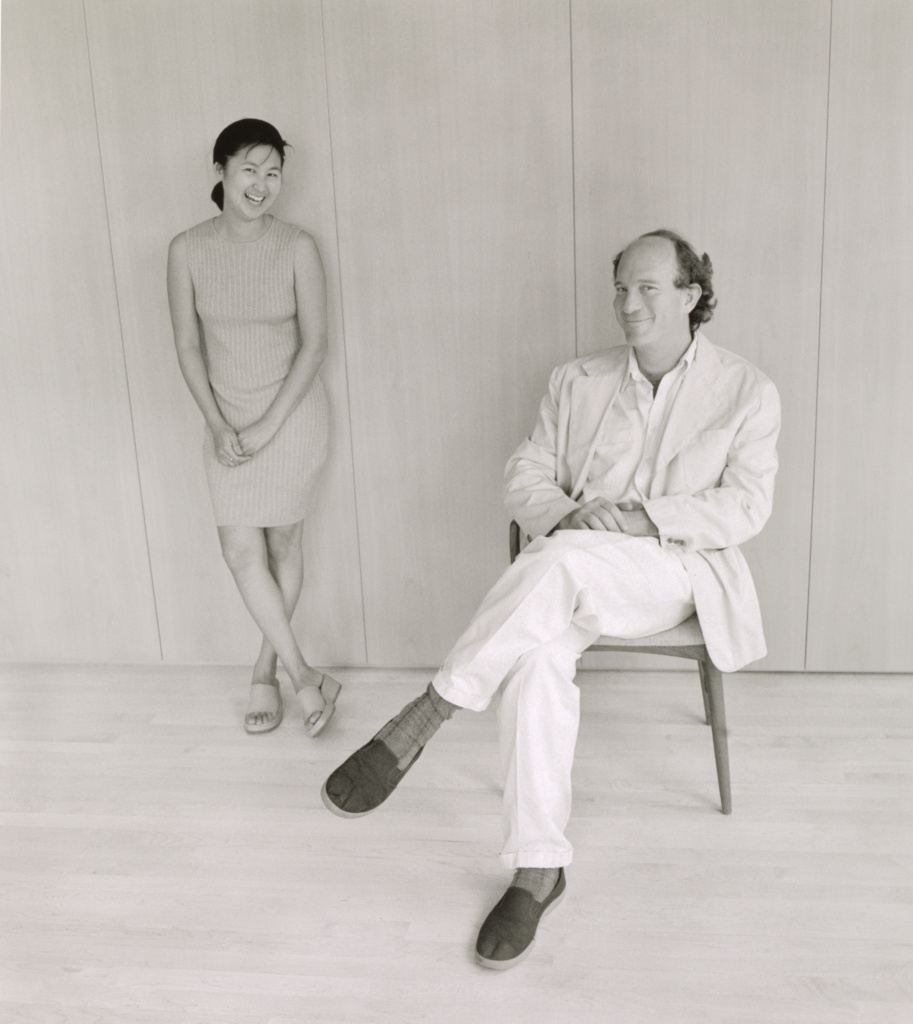 Maya Lin and Daniel Wolf, New York City; Mariana Cook (American, born 1955); New York, New York, United States; June 3, 1998; Selenium toned gelatin silver print; 91.5 × 81.3 cm (36 × 32 in.); 2009.109.1; The J. Paul Getty Museum, Los Angeles, Gift of the artist; Rights Statement: In Copyright; Copyright: © Mariana Cook