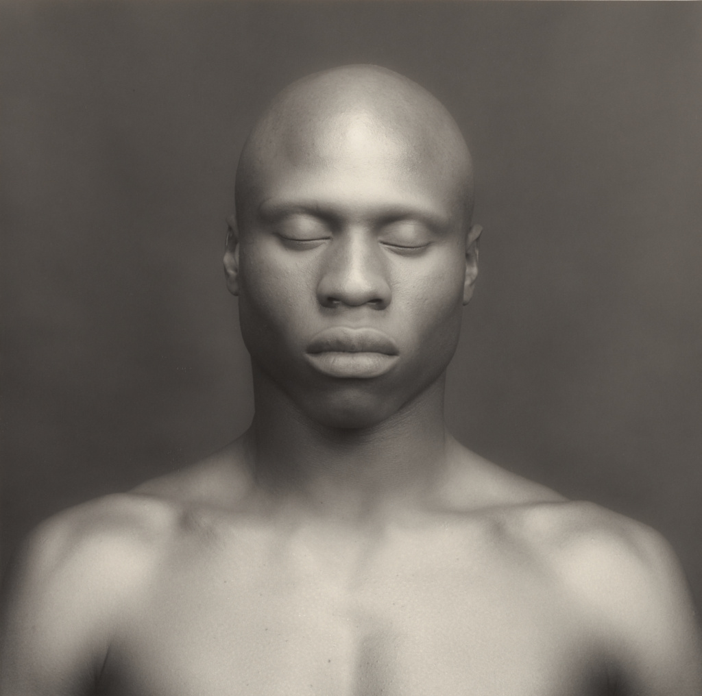 Ken Moody; Robert Mapplethorpe (American, 1946 - 1989); New York, New York, United States; 1983; Gelatin silver print; 38.5 × 38.7 cm (15 3/16 × 15 1/4 in.); 2011.7.16; Jointly acquired by the J. Paul Getty Trust and the Los Angeles County Museum of Art, with funds provided by the J. Paul Getty Trust and the David Geffen Foundation; Rights Statement: In Copyright; Copyright: © Robert Mapplethorpe Foundation