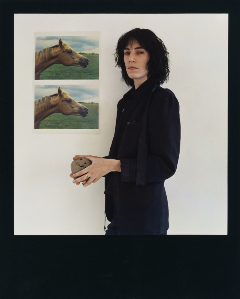 Patti Smith; Robert Mapplethorpe (American, 1946 - 1989); New York, New York, United States; 1975; Dye imbibition print; 49 × 39.4 cm (19 5/16 × 15 1/2 in.); 2011.7.33; Jointly acquired by the J. Paul Getty Trust and the Los Angeles County Museum of Art, with funds provided by the J. Paul Getty Trust and the David Geffen Foundation; Rights Statement: In Copyright; Copyright: © Robert Mapplethorpe Foundation