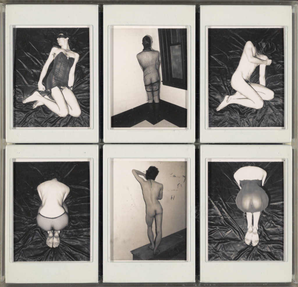 Untitled; Robert Mapplethorpe (American, 1946 - 1989); New York, New York, United States; about 1973; Polaroid diffusion print; 9.5 × 7.3 cm (3 3/4 × 2 7/8 in.); 2011.9.8; Jointly acquired by the J. Paul Getty Trust and the Los Angeles County Museum of Art; partial gift of The Robert Mapplethorpe Foundation; partial purchase with funds provided by the J. Paul Getty Trust and the David Geffen Foundation; Rights Statement: In Copyright; Copyright: © Robert Mapplethorpe Foundation