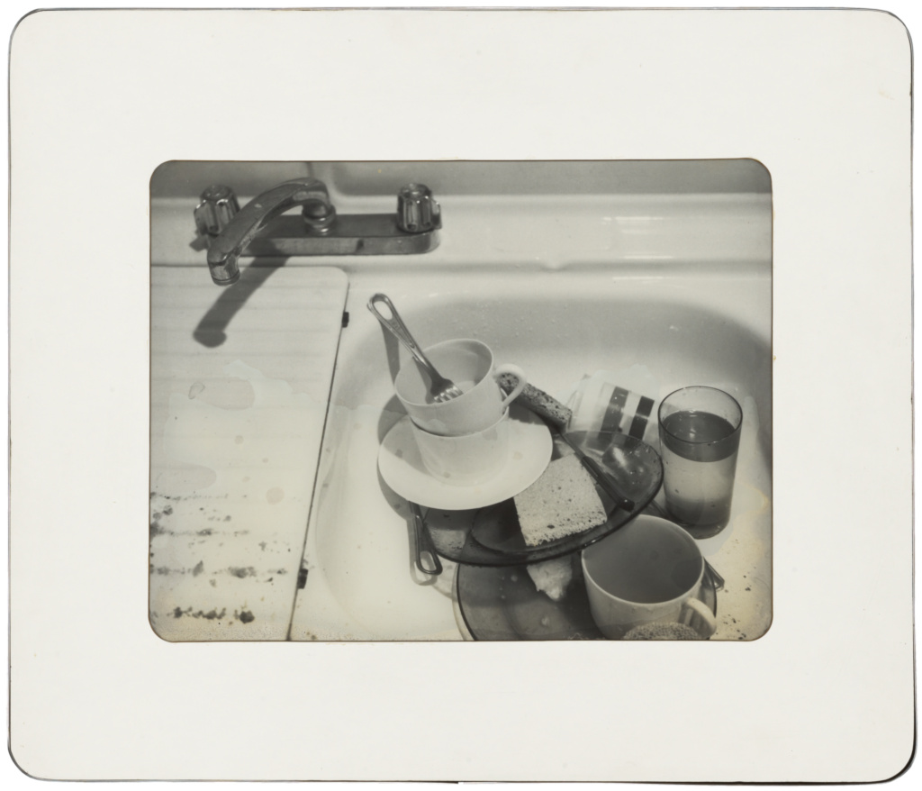 Kitchen Sink; Robert Mapplethorpe (American, 1946 - 1989); New York, New York, United States; 1975; Gelatin silver print; 25.8 × 33.4 cm (10 3/16 × 13 1/8 in.); 2011.9.16; Jointly acquired by the J. Paul Getty Trust and the Los Angeles County Museum of Art; partial gift of The Robert Mapplethorpe Foundation; partial purchase with funds provided by the J. Paul Getty Trust and the David Geffen Foundation; Rights Statement: In Copyright; Copyright: © Robert Mapplethorpe Foundation