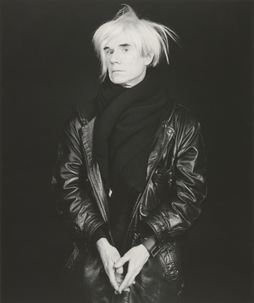 Andy Warhol; Robert Mapplethorpe (American, 1946 - 1989); New York, New York, United States; negative 1986; print 1990; Gelatin silver print; 58.6 × 49 cm (23 1/16 × 19 5/16 in.); 2011.9.23; Jointly acquired by the J. Paul Getty Trust and the Los Angeles County Museum of Art; partial gift of The Robert Mapplethorpe Foundation; partial purchase with funds provided by the J. Paul Getty Trust and the David Geffen Foundation; Rights Statement: In Copyright; Copyright: © Robert Mapplethorpe Foundation