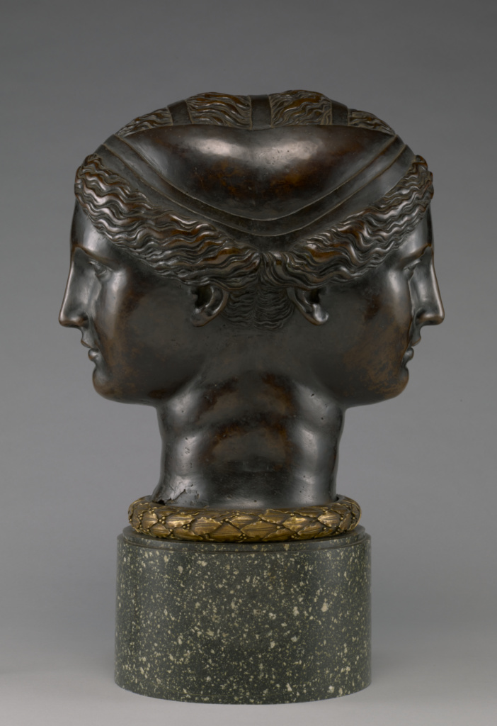 Double Head; Attributed to Francesco Primaticcio (Italian, 1504 - 1570); about 1543; Bronze; 38.5 × 35 × 20 cm (15 3/16 × 13 3/4 × 7 7/8 in.); 2011.45; Rights Statement: No Copyright - United States