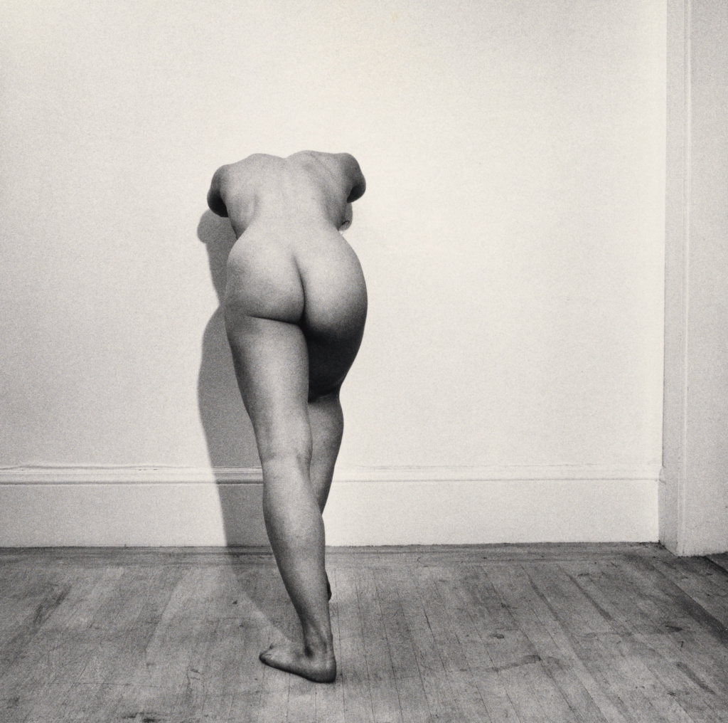 Lisa Lyon; Robert Mapplethorpe (American, 1946 - 1989); 1980; Gelatin silver print; 35.6 × 35.7 cm (14 × 14 1/16 in.); 2016.57.397; Gift of The Robert Mapplethorpe Foundation to the J. Paul Getty Trust and the Los Angeles County Museum of Art; Rights Statement: In Copyright; Copyright: © Robert Mapplethorpe Foundation