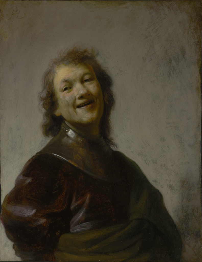 Rembrandt Laughing (Getty Museum)