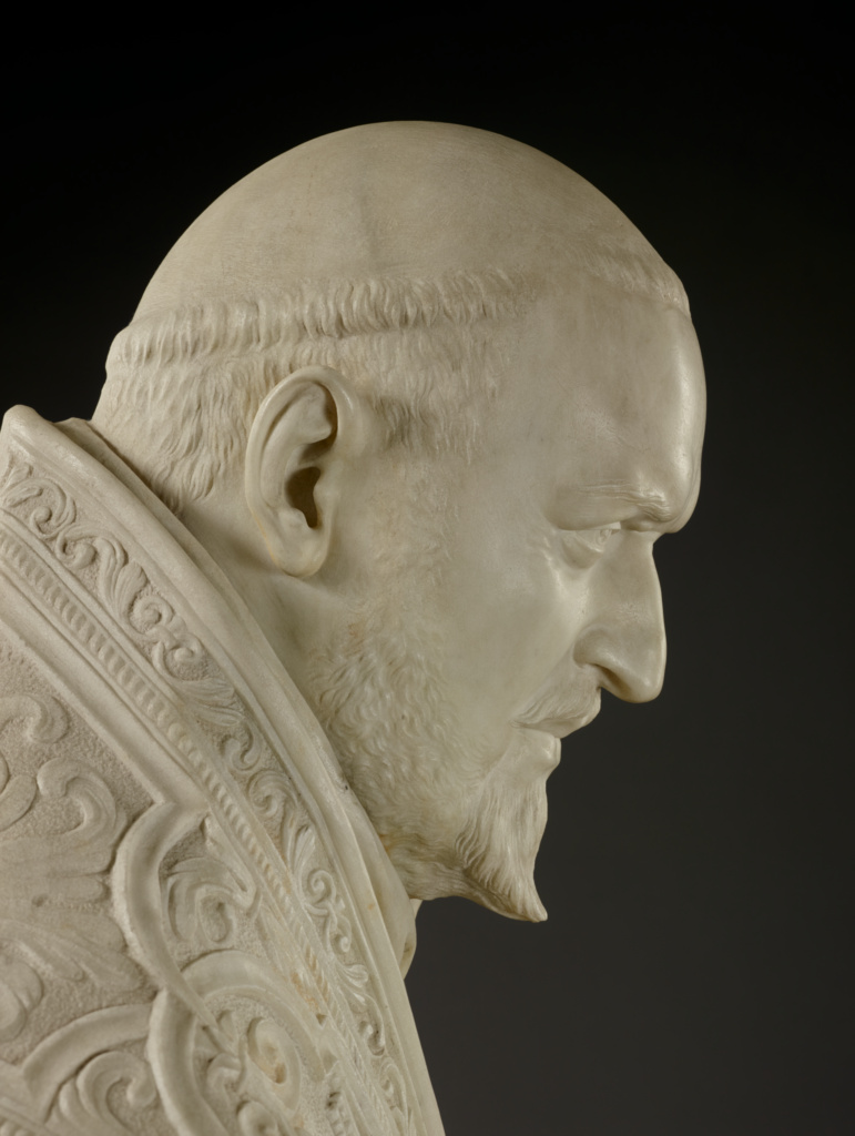 Bust of Pope Paul V (Getty Museum)