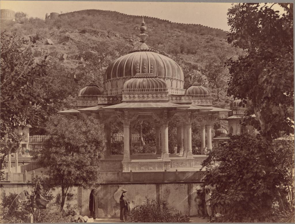 Cenotaph of Sawai Jai Singh. Gaitore, Jaipur