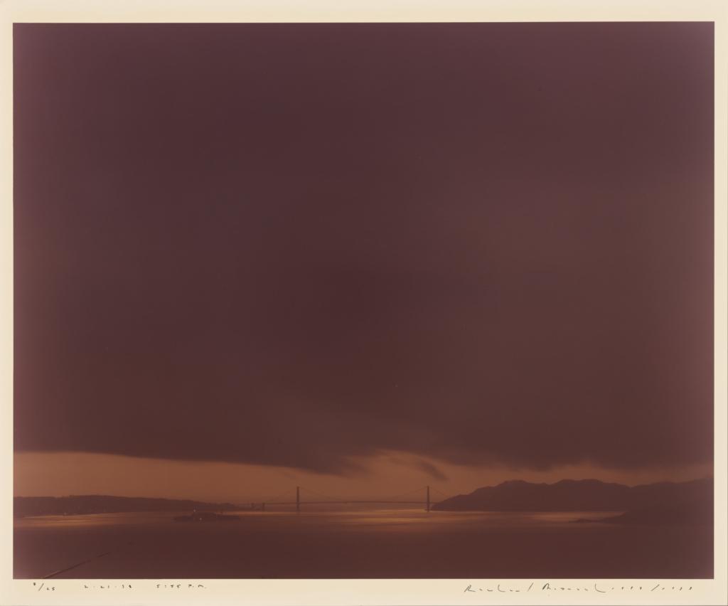 Golden Gate Bridge, 2 21 98, 5:55 PM (Getty Museum)