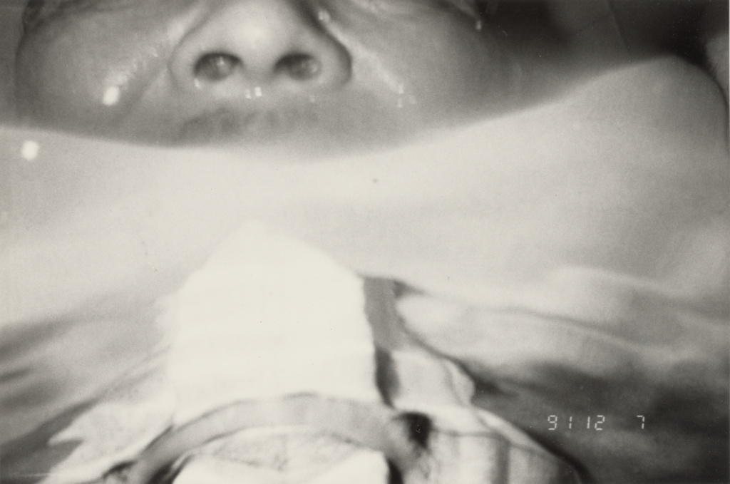 Untitled; Masahisa Fukase (Japanese, 1934 - 2012); negative December 7, 1991; print 1991–1992; Gelatin silver print; 15.9 × 23.9 cm (6 1/4 × 9 7/16 in.); 2017.107.73; Rights Statement: In Copyright; Copyright: © Masahisa Fukase Archives