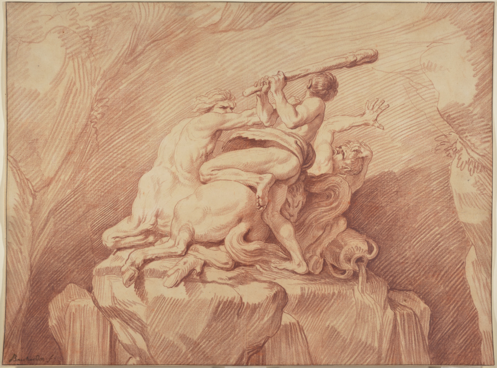 Hercules Subduing the Centaurs (Getty Museum)