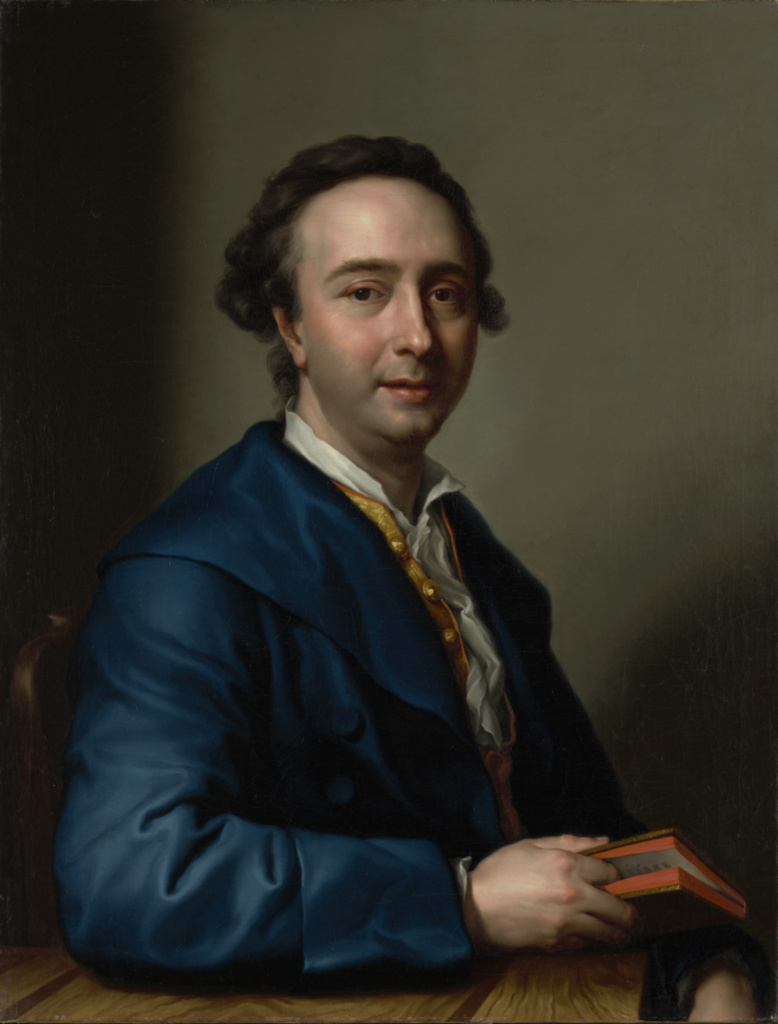 Portrait of José Nicolás de Azara, Marquis of Nibbiano; Anton Raphael Mengs (German, 1728 - 1779); Italy; after 1774; Oil on canvas; 82.6 × 63.5 cm (32 1/2 × 25 in.); 2019.132; The J. Paul Getty Museum, Los Angeles, Gift of Fabrizio Moretti in honor of Davide Gasparotto; Rights Statement: No Copyright - United States
