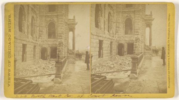 This is What John Bullock and Ruins Looked Like  in 1871